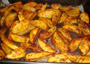 запечени на фурна картофи